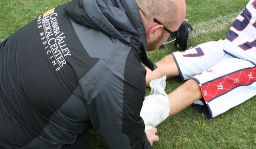 lacrosse, athletic trainers, sports medicine hickory