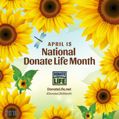 April is Donate a life Month